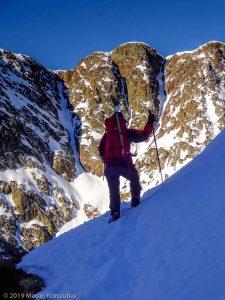 Dans la descente au refuge · Pyrénées, Pyrénées ariégeoises, Vallée de I'Artigue, FR · GPS 42°40'49.75'' N 1°23'47.77'' E · Altitude 2507m