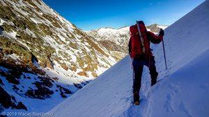 Dans la descente au refuge · Pyrénées, Pyrénées ariégeoises, Vallée de I'Artigue, FR · GPS 42°41'2.13'' N 1°23'40.26'' E · Altitude 2357m