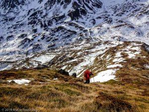 Montée depuis l'Etang · Pyrénées, Pyrénées ariégeoises, Vallée de Mérens, FR · GPS 42°36'5.26'' N 1°45'16.70'' E · Altitude 2443m