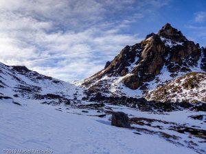 Descente de la Porteilla · Pyrénées, Pyrénées ariégeoises, Vallée de Mérens, FR · GPS 42°36'20.54'' N 1°45'34.95'' E · Altitude 2346m