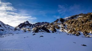 Descente à l'Hospitalet · Pyrénées, Pyrénées ariégeoises, Vallée de Mérens, FR · GPS 42°36'32.60'' N 1°46'4.05'' E · Altitude 2230m