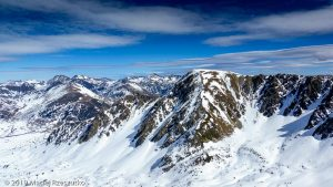 Pic de la Mina · Pyrénées, Pyrénées orientales, Puymorens, FR · GPS 42°32'6.41'' N 1°46'6.97'' E · Altitude 2736m