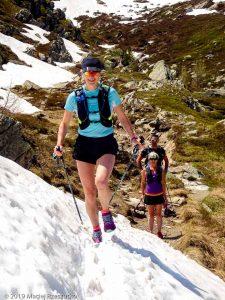 Sur la traversée Plan de l'Aiguille - Montenvers Mer de Glace · Alpes, Massif du Mont-Blanc, Vallée de Chamonix, FR · GPS 45°54'20.51'' N 6°53'16.05'' E · Altitude 2151m