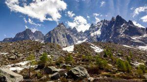 Traversée Plan-Montenvers · Alpes, Massif du Mont-Blanc, Vallée de Chamonix, FR · GPS 45°54'24.34'' N 6°53'25.12'' E · Altitude 2129m