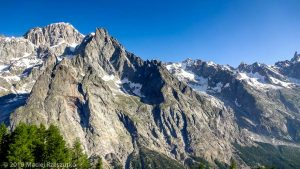 Reco de la TDS · Alpes, Massif du Mont-Blanc, Val Vény, IT · GPS 45°47'2.45'' N 6°55'5.45'' E · Altitude 2105m