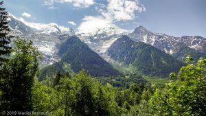 Reco de la TDS · Alpes, Massif du Mont-Blanc, Vallée de Chamonix, FR · GPS 45°54'31.79'' N 6°50'24.52'' E · Altitude 1037m