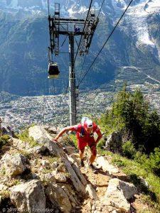 Kilomètre vertical de Chamonix · Alpes, Aiguilles Rouges, Vallée de Chamonix, FR · GPS 45°56'1.44'' N 6°51'16.42'' E · Altitude 1843m