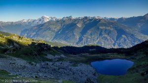 Col de Chamolé · Alpes, Alpes grées, Val d'Aoste, IT · GPS 45°40'19.28'' N 7°20'9.44'' E · Altitude 2488m