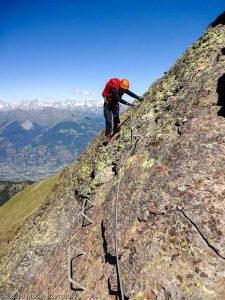 À l'approche du Mont Ross de Comboé · Alpes, Alpes grées, Val d'Aoste, IT · GPS 45°40'44.46'' N 7°22'18.85'' E · Altitude 3141m