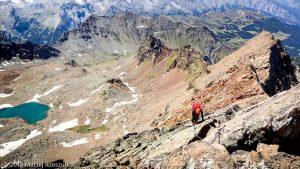 Sur la crête après le Petit Emilius · Alpes, Alpes grées, Val d'Aoste, IT · GPS 45°40'44.49'' N 7°22'50.76'' E · Altitude 3324m