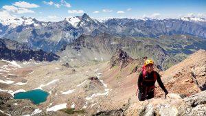 Sur la crête après le Petit Emilius · Alpes, Alpes grées, Val d'Aoste, IT · GPS 45°40'44.49'' N 7°22'50.77'' E · Altitude 3325m