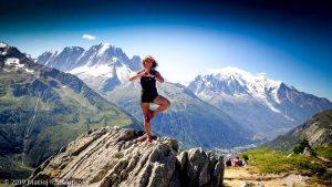 Au sommet d'Aiguillete des Posettes, tout le massif du Mont-Blanc derrière · Alpes, Massif du Mont-Blanc, Vallée de Chamonix, FR · GPS 46°1'5.18'' N 6°56'24.79'' E · Altitude 2175m