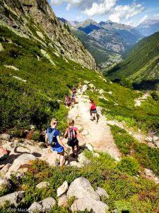 Descente au Col des Montets depuis le Grand Balcon Sud · Alpes, Aiguilles Rouges, Vallée de Chamonix, FR · GPS 45°59'54.90'' N 6°54'52.34'' E · Altitude 1908m