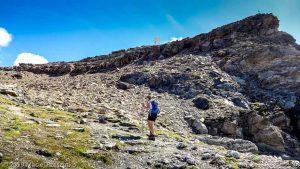 Dans la montée de la Testa Grigia · Alpes, Val d'Aoste, Vallée d'Ayas, IT · GPS 45°49'22.58'' N 7°47'22.92'' E · Altitude 2989m