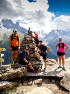 La Tête aux Vents sur le parcours de la CCC, l'intégralité du massif du Mont-Blanc derrière · Alpes, Aiguilles Rouges, Vallée de Chamonix, FR · GPS 45°58'56.97'' N 6°54'23.48'' E · Altitude 2138m