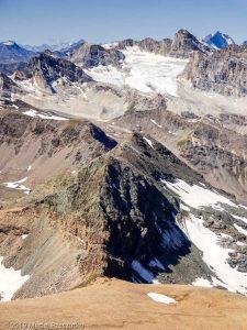 Vue depuis le sommet du Taou Blanc · Alpes, Val d'Aoste, Parc National du Grand Paradis, IT · GPS 45°31'20.13'' N 7°8'52.66'' E · Altitude 3438m