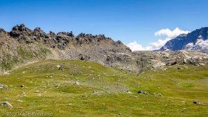Retour au Col du Nivolet · Alpes, Val d'Aoste, Parc National du Grand Paradis, IT · GPS 45°29'10.18'' N 7°8'19.80'' E · Altitude 2592m