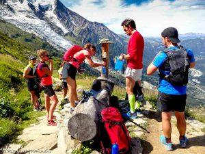 Ravitaillement au refuge du Plan de l'Aiguille du Midi · Alpes, Massif du Mont-Blanc, Vallée de Chamonix, FR · GPS 45°54'19.51'' N 6°52'57.23'' E · Altitude 2142m