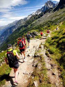 Sur la traversée Plan de l'Aiguille - Montenvers Mer de Glace · Alpes, Massif du Mont-Blanc, Vallée de Chamonix, FR · GPS 45°54'21.22'' N 6°52'58.84'' E · Altitude 2144m