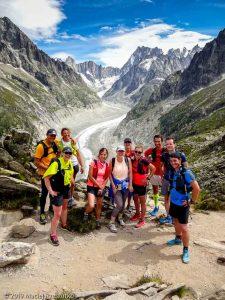 Signal Forbes, incontournable belvédère sur la Mer de Glace, Grandes Jorasses au fond · Alpes, Massif du Mont-Blanc, Vallée de Chamonix, FR · GPS 45°55'50.23'' N 6°54'55.31'' E · Altitude 2027m