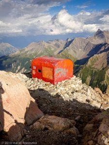 Fin de la journée au bivouac Gino Rainetto · Alpes, Massif du Mont-Blanc, Val Vény, IT · GPS 45°47'8.15'' N 6°50'24.51'' E · Altitude 3047m