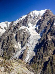 Dans la descente du Petit Mont Blanc · Alpes, Massif du Mont-Blanc, Val Vény, IT · GPS 45°47'20.68'' N 6°50'14.77'' E · Altitude 3184m