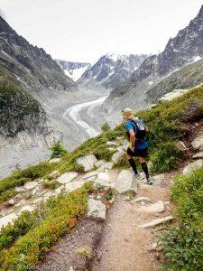 Descente à Montenvers depuis le Signal Forbes · Alpes, Massif du Mont-Blanc, Vallée de Chamonix, FR · GPS 45°55'43.09'' N 6°54'55.83'' E · Altitude 2033m