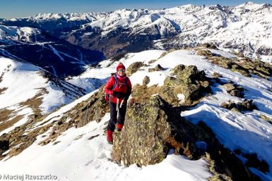 Crête du Port d'Envalira · Pyrénées, Andorre, Canillo, AD · GPS 42°34'52.41'' N 1°42'30.02'' E · Altitude 2727m