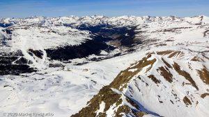 Depuis le sommet de Pic Negre d'Envalira · Pyrénées, Pyrénées Orientales, Puymorens, FR · GPS 42°31'6.41'' N 1°43'20.97'' E · Altitude 2818m