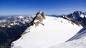 Face Nord du Tacul · Alpes, Massif du Mont-Blanc, FR · GPS 45°51'45.57'' N 6°53'1.36'' E · Altitude 3778m