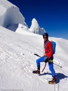 Face Nord du Tacul · Alpes, Massif du Mont-Blanc, FR · GPS 45°51'45.57'' N 6°53'1.39'' E · Altitude 3778m