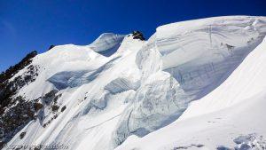 Arête du Triangle · Alpes, Massif du Mont-Blanc, FR · GPS 45°51'33.32'' N 6°53'13.46'' E · Altitude 4136m
