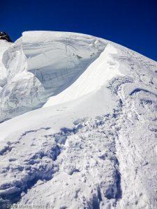 Arête du Triangle · Alpes, Massif du Mont-Blanc, FR · GPS 45°51'33.30'' N 6°53'13.38'' E · Altitude 4138m