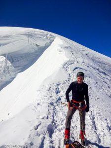 Arête du Triangle · Alpes, Massif du Mont-Blanc, FR · GPS 45°51'33.37'' N 6°53'13.37'' E · Altitude 4137m
