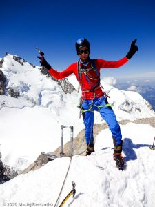 Mont Blanc du Tacul · Alpes, Massif du Mont-Blanc, FR · GPS 45°51'23.87'' N 6°53'16.61'' E · Altitude 4248m