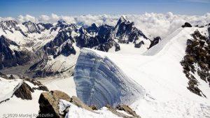 Mont Blanc du Tacul · Alpes, Massif du Mont-Blanc, FR · GPS 45°51'23.88'' N 6°53'16.54'' E · Altitude 4248m