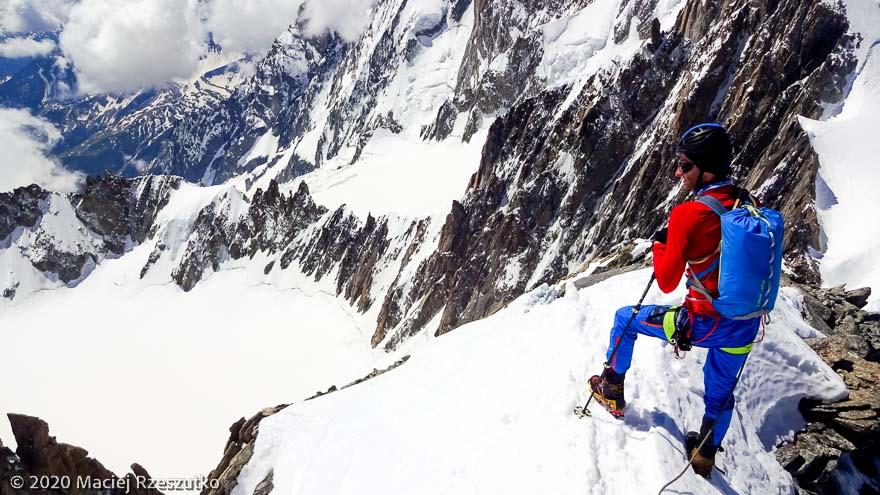 Mont Blanc du Tacul · Alpes, Massif du Mont-Blanc, FR · GPS 45°51'23.24'' N 6°53'16.38'' E · Altitude 4248m