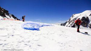 Épaule du Tacul · Alpes, Massif du Mont-Blanc, FR · GPS 45°51'28.47'' N 6°53'11.05'' E · Altitude 4186m