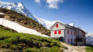 Refuge du Plan de l'Aiguille · Alpes, Massif du Mont-Blanc, Vallée de Chamonix, FR · GPS 45°54'21.00'' N 6°52'58.49'' E · Altitude 2174m