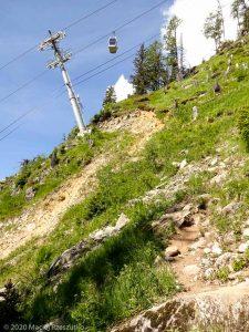 KMV de Chamonix · Alpes, Aiguilles Rouges, FR · GPS 45°55'57.13'' N 6°51'22.08'' E · Altitude 1674m