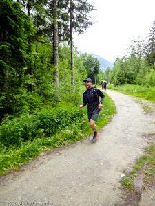 Stage Trail Découverte J1 · Alpes, Massif du Mont-Blanc, Vallée de Chamonix, FR · GPS 45°55'46.85'' N 6°52'40.18'' E · Altitude 1046m