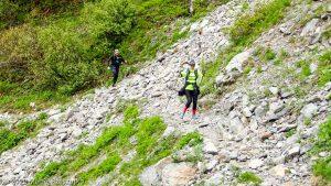 Stage Trail Découverte J2 · Préalpes de Haute-Savoie, Aiguilles Rouges, Vallée de Chamonix, FR · GPS 45°57'14.89'' N 6°52'19.95'' E · Altitude 1817m