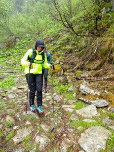 Stage Trail Découverte J3 · Alpes, Massif du Mont-Blanc, Vallée de Chamonix, FR · GPS 45°55'58.52'' N 6°54'33.42'' E · Altitude 1747m
