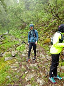 Stage Trail Découverte J3 · Alpes, Massif du Mont-Blanc, Vallée de Chamonix, FR · GPS 45°55'58.47'' N 6°54'33.22'' E · Altitude 1747m