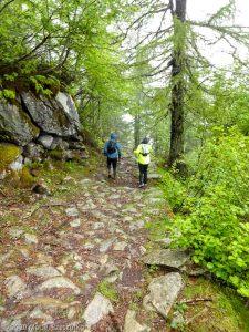 Stage Trail Découverte J3 · Alpes, Massif du Mont-Blanc, Vallée de Chamonix, FR · GPS 45°55'58.20'' N 6°54'31.96'' E · Altitude 1744m
