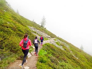 Stage Trail Initiation J3 · Alpes, Aiguilles Rouges, Vallée de Chamonix, FR · GPS 45°56'44.42'' N 6°51'19.93'' E · Altitude 1893m