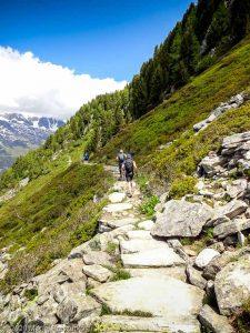 WE Choc Modéré J1 · Alpes, Massif du Mont-Blanc, Vallée de Chamonix, FR · GPS 45°55'14.58'' N 6°54'19.23'' E · Altitude 2084m