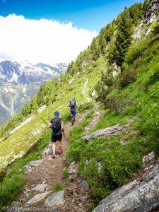 WE Choc Modéré J1 · Alpes, Massif du Mont-Blanc, Vallée de Chamonix, FR · GPS 45°55'17.75'' N 6°54'20.12'' E · Altitude 2076m