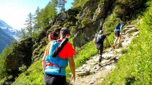 WE Choc Modéré J2 · Alpes, Aiguilles Rouges, Vallée de Chamonix, FR · GPS 46°0'7.18'' N 6°55'8.15'' E · Altitude 1607m