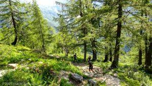 Reco Marathon du Mont-Blanc J2 · Alpes, Aiguilles Rouges, Vallée de Chamonix, FR · GPS 45°59'21.77'' N 6°55'12.04'' E · Altitude 1625m
